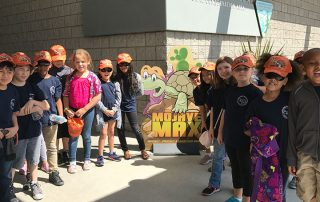 Children at Children at Red Rock Canyon National Conservation Area on their Emergence Contest field trip